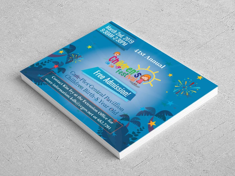 Children Flyer Designed by iGeekTeam