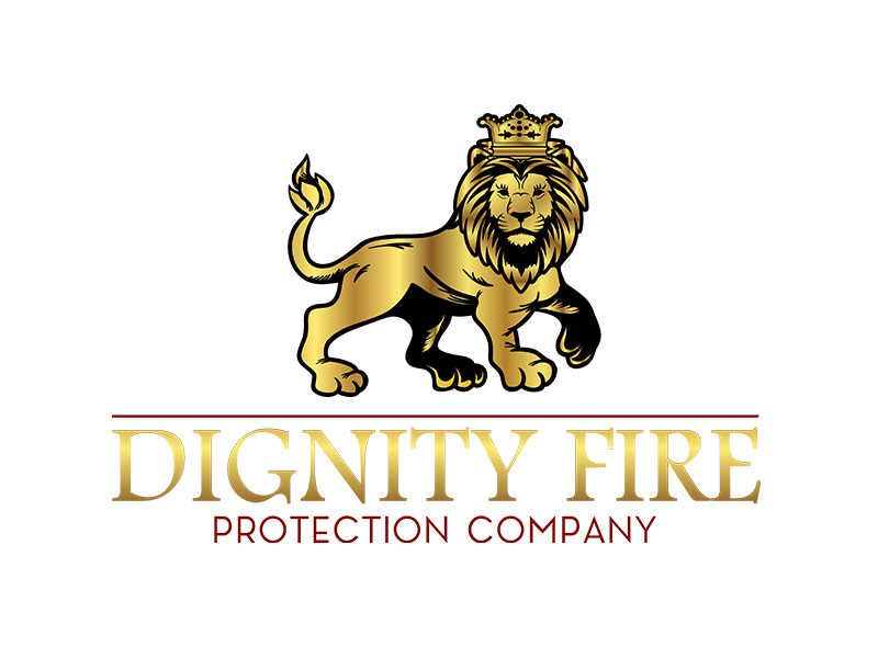 Dignity Fire Logo Designed by iGeekTeam