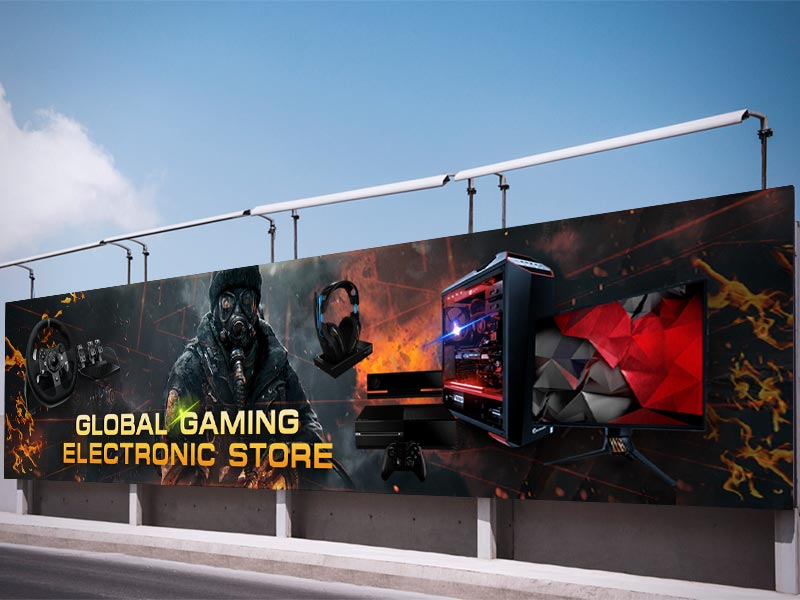 Global Gaming Banner Designed by iGeekTeam