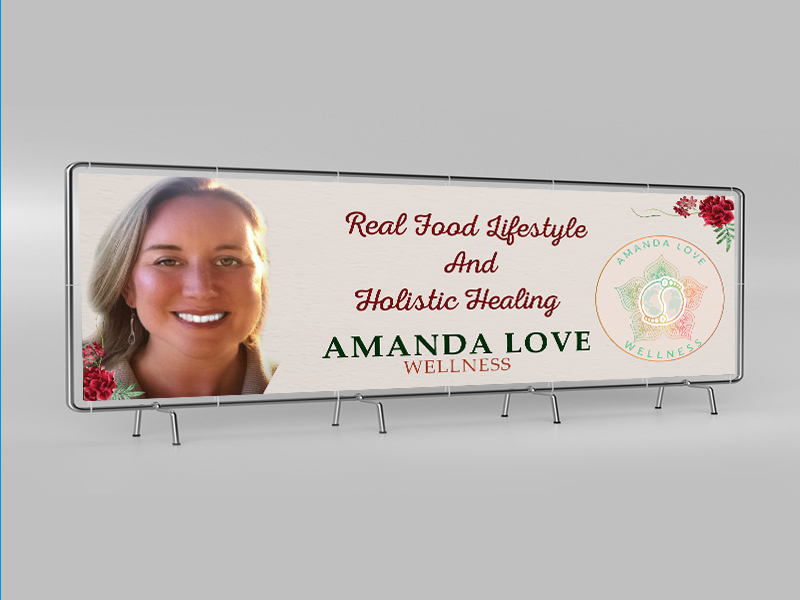 Holistic Healing Banner Designed by iGeekTeam