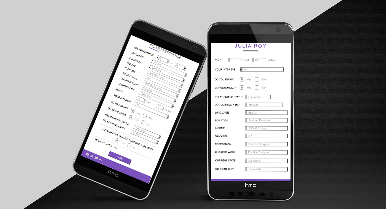 Mobile app design by igeekteam