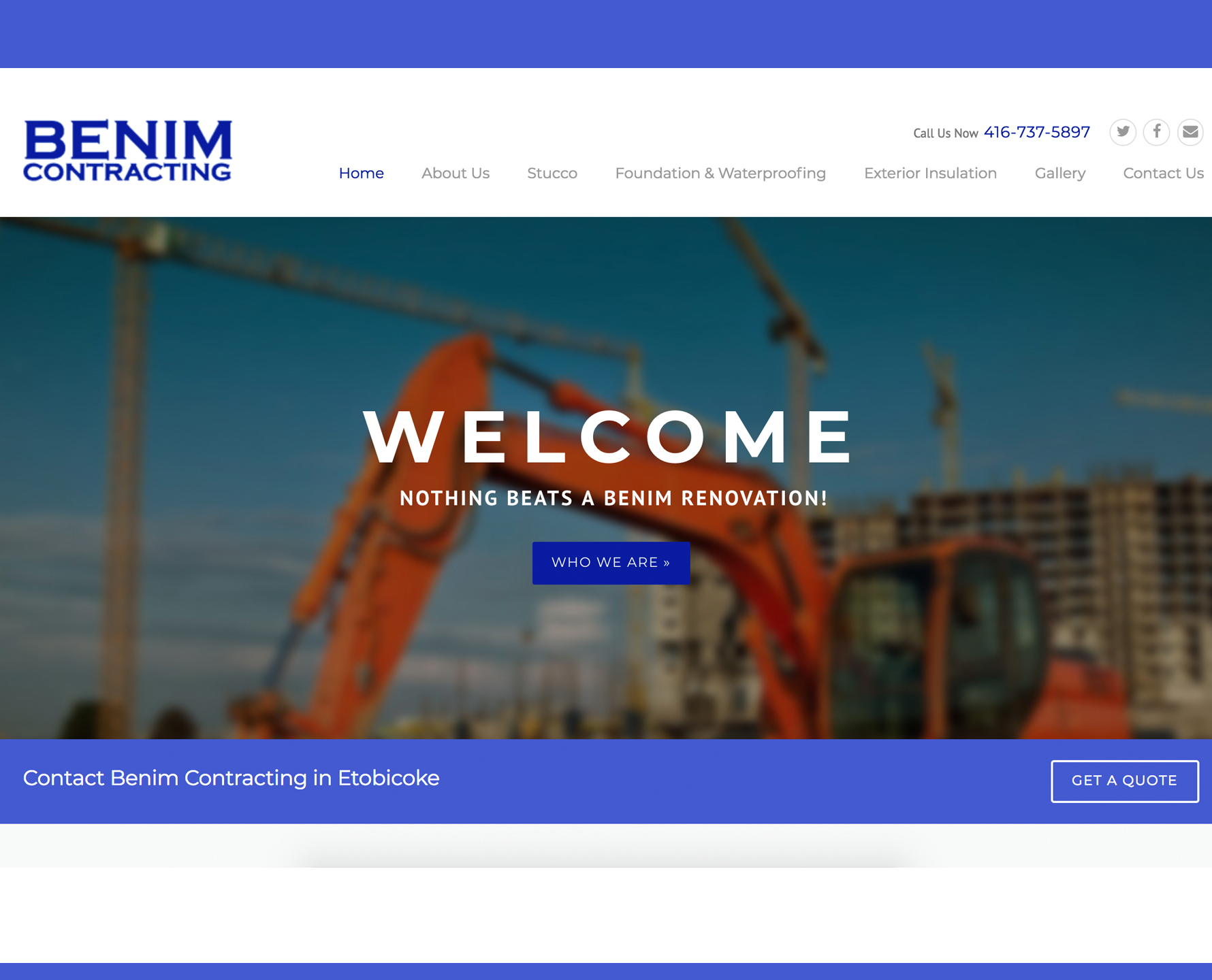 Construction & Real Estate Websites by iGeekTeam