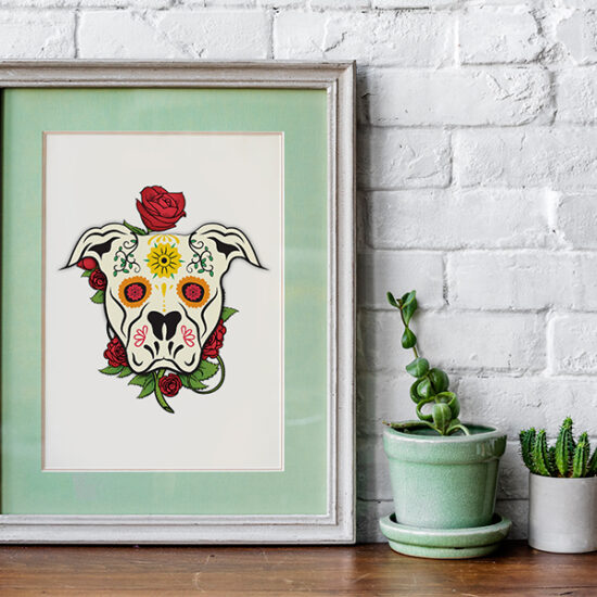 Coco Dog Illustration Design By iGeekTeam
