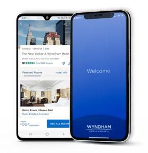 Wyndham Hotels and Resorts App Developed by iGeekTeam